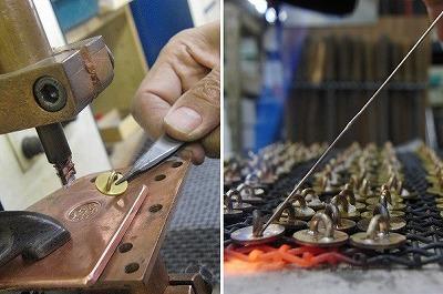 金型の有効な利用方法(オリジナル・特注のカシメ、ホック、ボタン、引っ張り、ブローチ、チャーム、タグ、ネームプレート金具)メタルハウス 金具 METAL HOUSE BLOG
