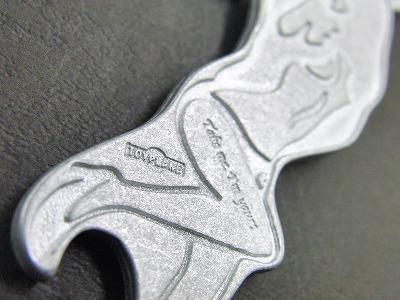 オーダーメイド・オリジナル・特注のロゴ入りキーホルダー金具とオリジナル・特注ウォレットチェーン メタルハウス 金具