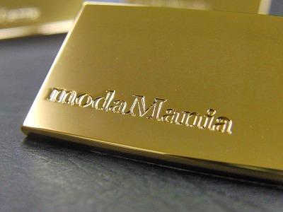 オリジナルブランド特注ネームプレートのオーダー メタルハウス 金具