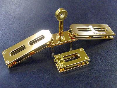 お客様オリジナルロゴ入り、オーダーメイド・特注、ケリーバーキン金具のオーダー