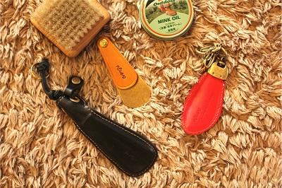 全てメタルハウスで開発製作した、靴べらシリーズ