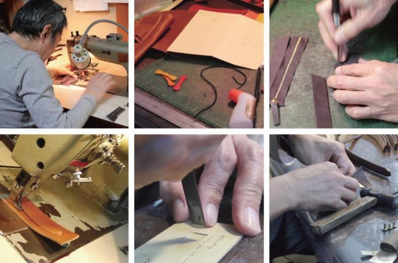 オリジナル金具の製作はもちろんの事、キーホルダーに革を取り付けたり、靴べらキーホルダー、革製のオリジナル小物の生産も可能になりました。イベント、ライブのグッズ、神社仏閣のお土産、創立記念、ゴルフクラブ、、、カタログなどでは作れない、世界でただひとつの究極のオリジナルグッズを僕らと一緒に作りましょう。