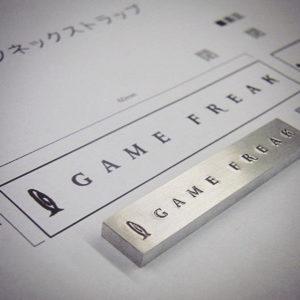 GAME FREAKの刻印が押されたのが分かりますか?