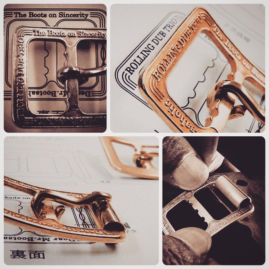 メタルハウスでは、さまざまお客様から、さまざまな用途に向けて、完全オーダーメイドのバックルを作ります。        真鍮製などの素材のリクエストから、ブランドロゴ、ロットなどを考慮して、鋳物、プレス、削り出しなど、、お客様のイメージやデザインを形にする、最適な製法にて、オリジナルのバックルを製作していきます。