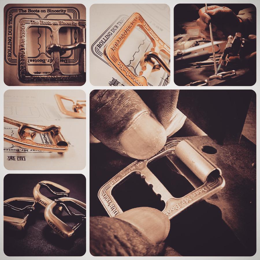 ブランドのワンポイントして、またブランドネームを刻み込んだオーダーメイドの金具を特注で製作したことで、ブランドの新たな付加価値を創造できたと、喜ばれる声を頂けるようになりました。