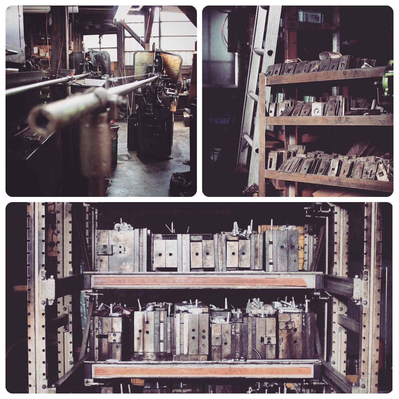 """下町の工場には様々なモノ作りを共に支える多くの""""名人=職人達がいます。 金属を切る職人、打ち抜く職人、曲げる職人、穴を開ける職人、原型を作る職人、鋳物の技術を持つ職人、メッキ職人、縫製職人、革なめし職人、 、、"""