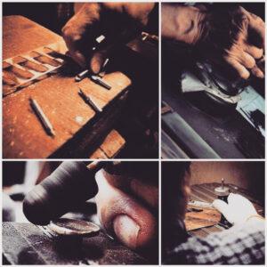 ファッション、アパレル、ブランドオリジナルの金具、商品は完全オーダーメイドで作れます。歴史を刻んだメタルハウスの道具と職人の技。誰にも真似できないモノ作りの原点がここに。