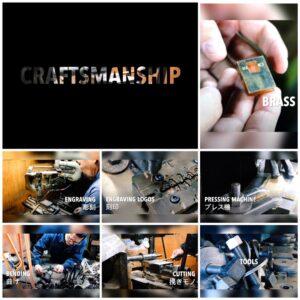 メタルハウスでは、さまざまお客様から、さまざまな用途に向けて、完全オーダーメイドの金具や金属小物、革小物を作ります。真鍮製などの素材のリクエストから、ブランドロゴ、ロットなどを考慮して、鋳物、プレス、削り出しなど、、お客様のイメージやデザインを形にする、最適な製法にて、オリジナルのプロダクトやグッズを製作していきます。