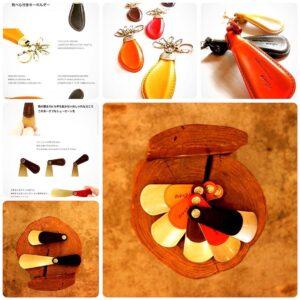 """弊社が開発した""""製品""""や、""""デザインサンプル""""の中から、お客様のお好きなものを選んで頂き、お客様オリジナルのブランド名やロゴを刻印し、革の縫製を行い、お客様のオリジナル製品として製作することも可能です。"""